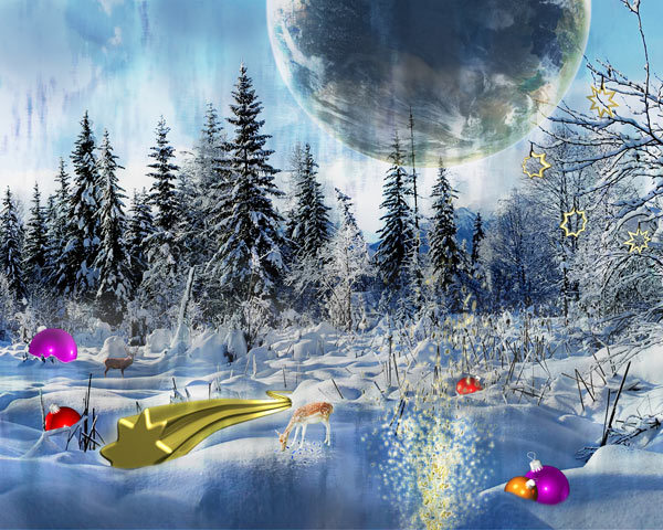 50 widescreen christmas wallpapers to have logic of count