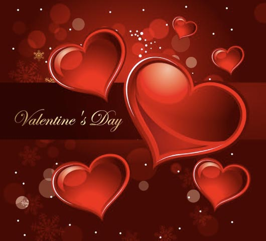 High Quality Vector Graphics for Valentines Day Compaigns