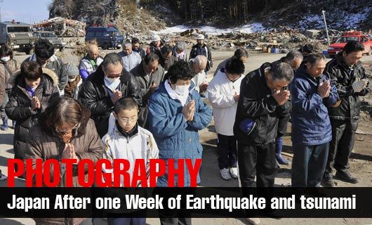 Photography - Japan Earthquake and tsunami After One Week