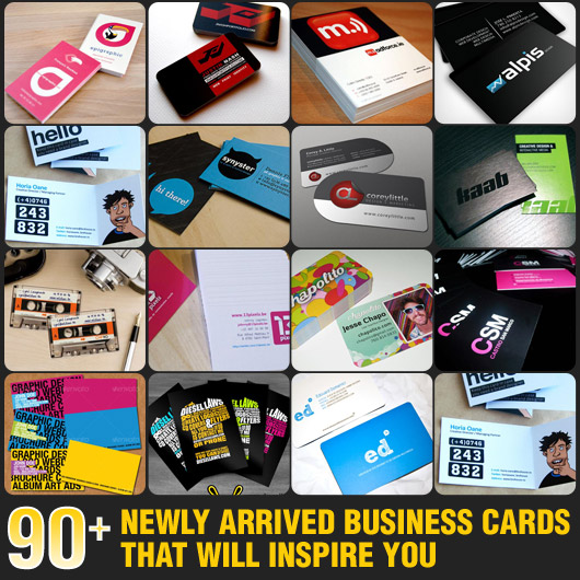 90+ Newly Arrived Business Cards That Will Inspire You