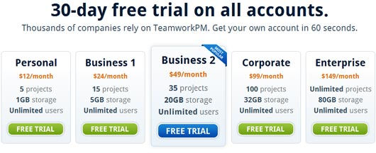 TeamworkPM - Accurate Project Management Software
