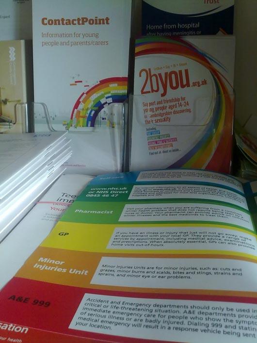 Don't Use Rainbow Colors in the Brochure
