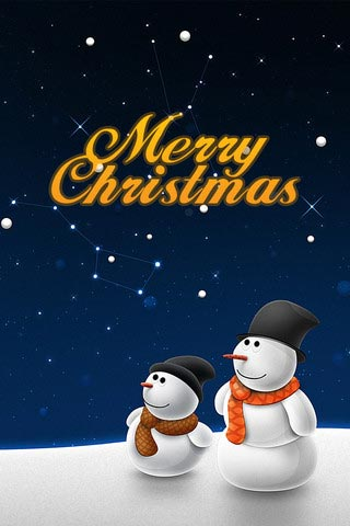 40 Emotive Christmas Wallpapers as iPhone 4S Costume