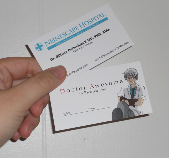 Business Cards Front-Back