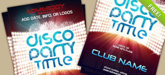 PSD Poster Template For Club Event