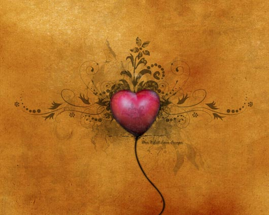 50 Breathtaking Mac Driven Wallpapers on Occasion of Valentine's Day