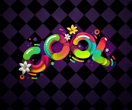 """Create """"Cool"""" Typography Using Paths in Photoshop"""