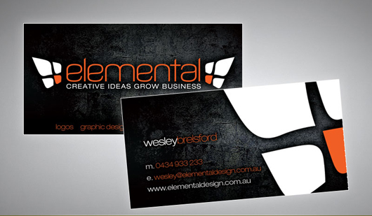 Elemental Business Card