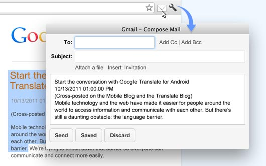 Email this page (by Google)