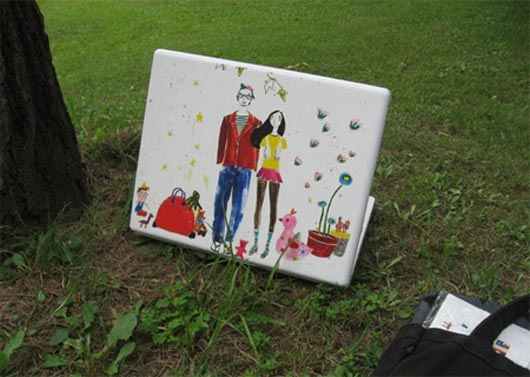 Laptop Skin Couple