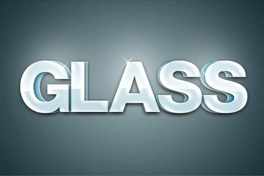 Quick Tip: Create an Extruded Glossy 3D Text Effect in Photoshop