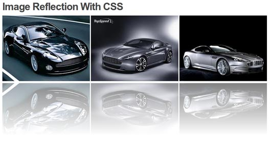 CSS Image Reflection With Webkit