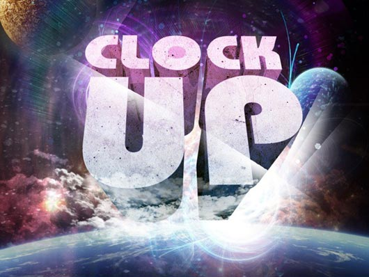 """Create a """"Clock Up"""" Wallpaper in Photoshop"""