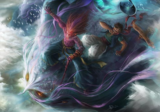 Fantasy: Journey to the East