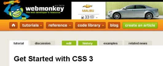 Get Started with CSS 3