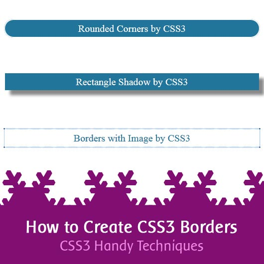 How to Create CSS3 Borders – CSS3 Handy Techniques