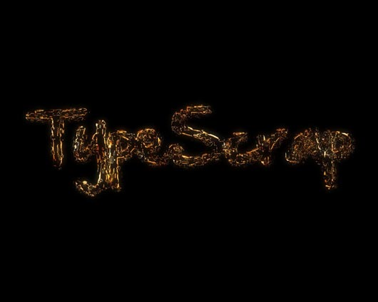 How to create a magnificent Metal Scrap Text Effect in Photoshop