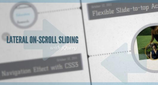 Lateral On-Scroll Sliding with jQuery