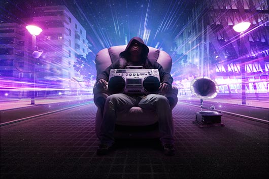 Members Area Tutorial: Create A Music Inspired Street Scene In Photoshop