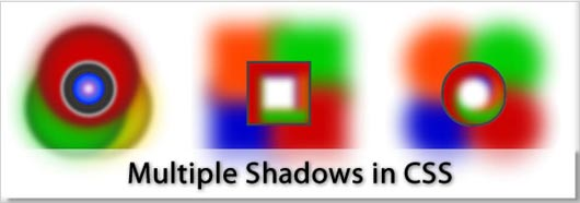 Multiple Shadows in CSS - View in Firefox, Chrome etc.
