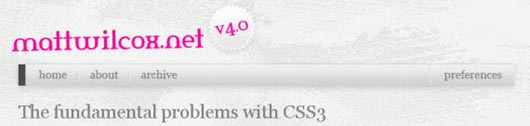 The fundamental problems with CSS3