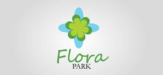Free Floral Logo Template