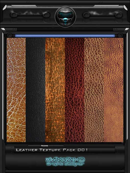 Leather Texture Pack 001