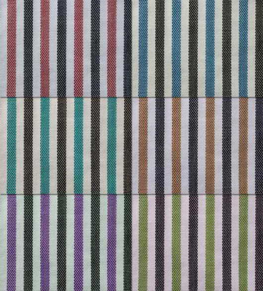 6 Striped Fabric Textures