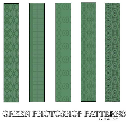 Green PS Patterns