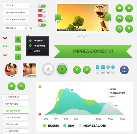 Importance of Buttons in a Web Page Design