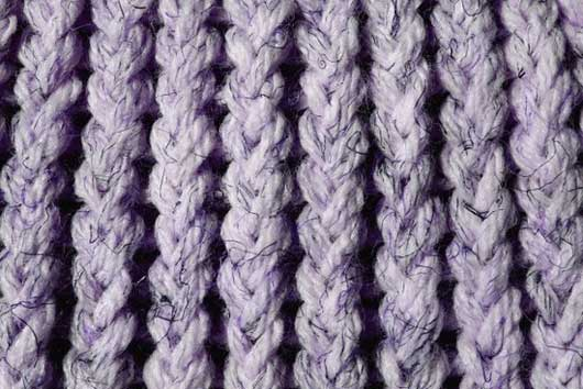 Lavender Knit Yarn Close Up Texture