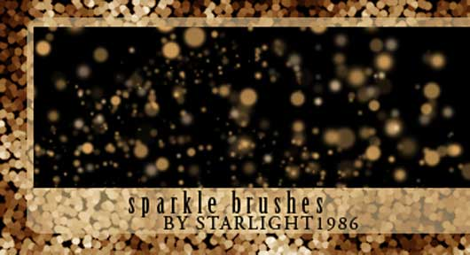 Simple sparkle brushes