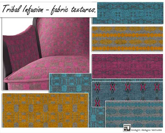 Tribal Infusion Fabric textures