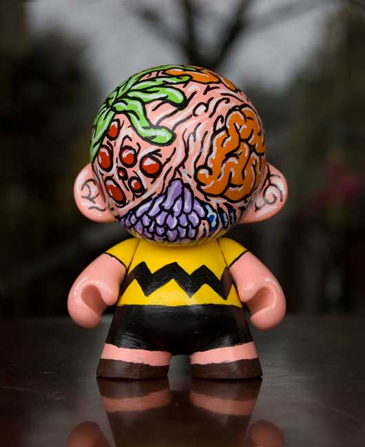 Charlie Brown Mini Munny