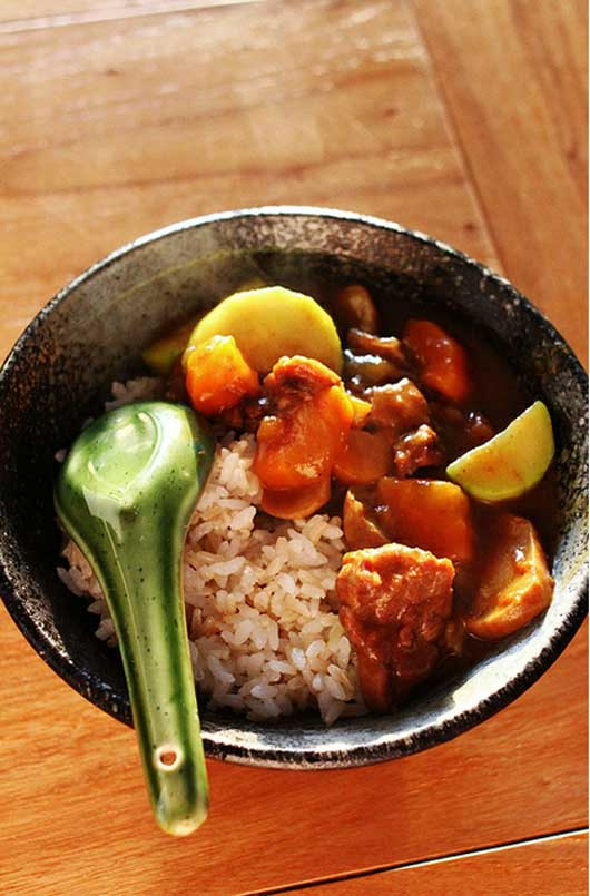 Japanese Golden Beef Curry