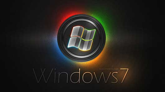 Making a Colorful Windows 7 Wallpaper in Photoshop