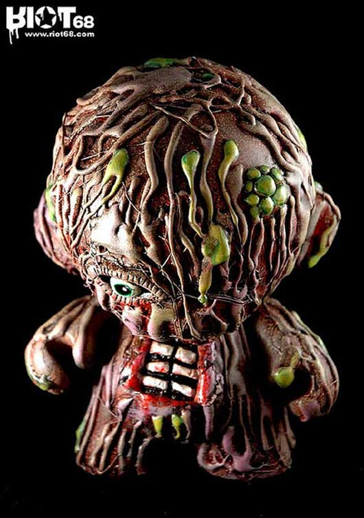 Munny Shot :: creeping flesh