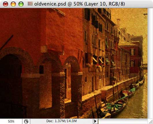 Old Venice - making of