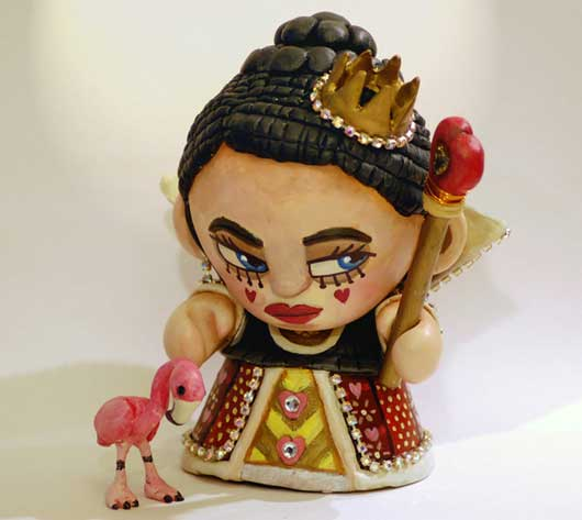 Queen of Hearts - Custom Munny