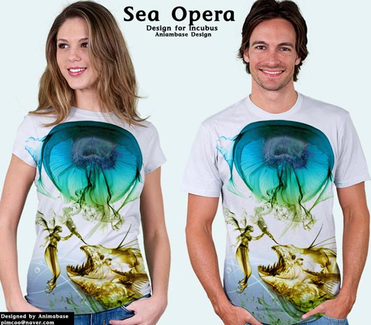 (T-shirt) Sea Opera for Incubus