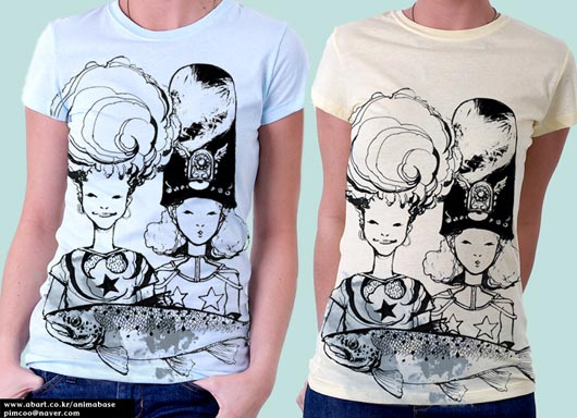 (T-shirts) Mealtime