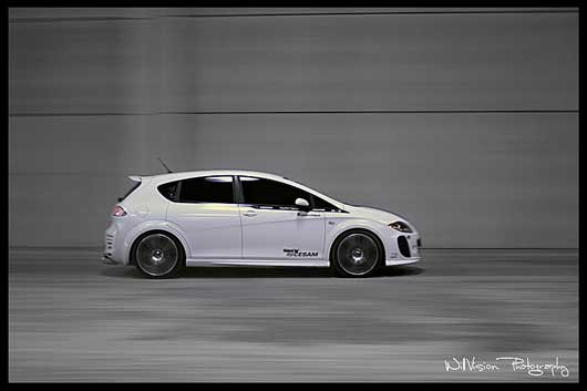 Tuning - Seat Leon by Cesam - Panning shot