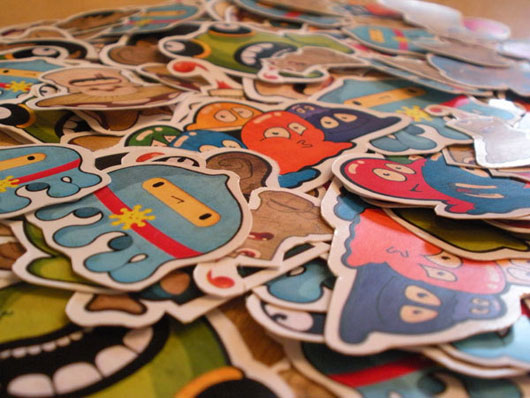 Wonderful Stickers Designs To Look Attractive