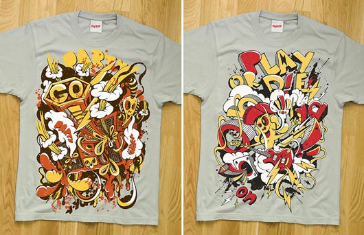 t-shirts with illustrations