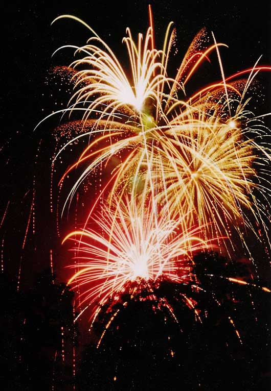 Dazzling Fireworks Photography To Show Happiness