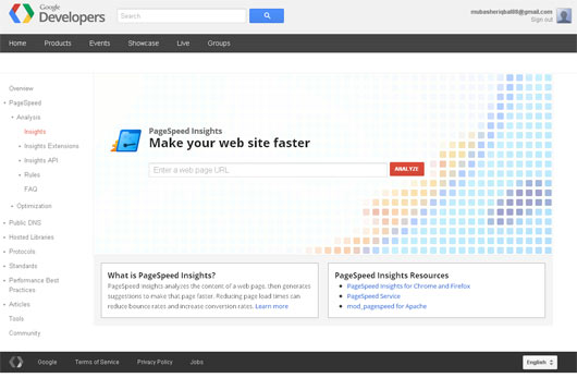 Page Speed Online