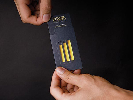 Display the Desired Stuff on Business Card