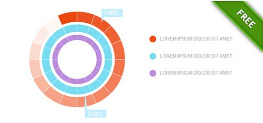 Infographic PSD Template