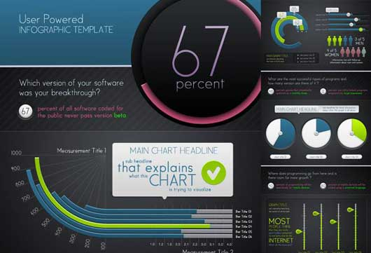 Infographic Template and Charts v5
