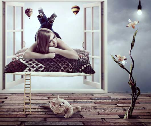 Photo Manipulate the Surreal Composition 'Daydream'